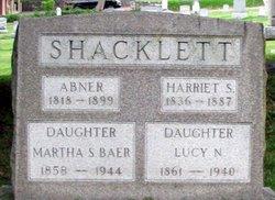 Harriet S Shacklett