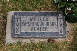Sarah <i>Haslam</i> Johnson