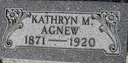 Kathryn Mae Kitty <i>Halbert</i> Agnew