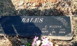 Maxine <i>Dillinger</i> Bales