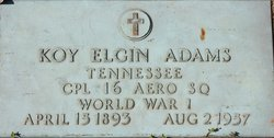 Koy Eglin Adams