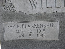 Fay R. <i>Blankenship</i> Williams