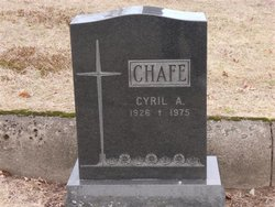 Cyril A Chafe