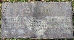 Dorothy A Allen