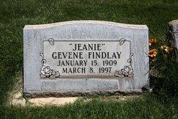 Gevene Jeanie Findlay
