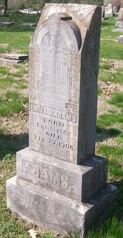 Emma A. <i>Ferguson</i> Adams