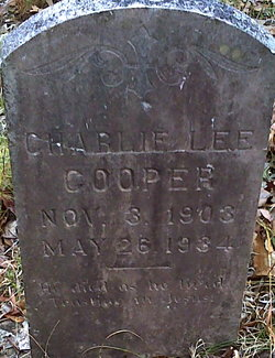 Charlie Lee Cooper
