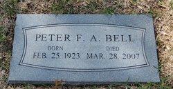Peter Frank Arundel Bell