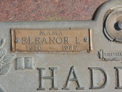 Dosha Eleanor <i>Langston</i> Haddock