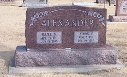 Hazel M Alexander