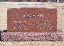 Dr Melvin Carter Bowman
