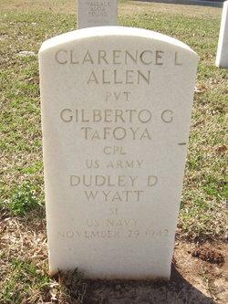 Pvt Clarence L Allen
