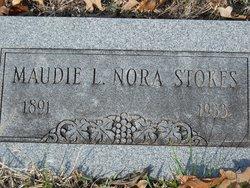 Maudie Elnora Nora <i>Wall</i> Stokes