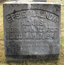 Epsie Malinda <i>Felker</i> Adams