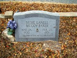 Susie Lanell <i>McCoy</i> Baker