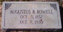 Augustus Barnwell Rowell