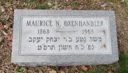 Maurice N. Oxenhandler