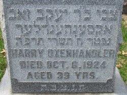 Harry Oxenhandler