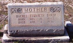 Rachel Elizabeth Baker