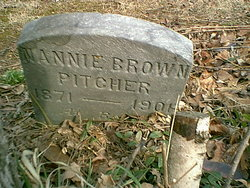 Nannie Brown Pitcher
