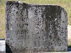 Annie L. <i>Poland</i> Davis