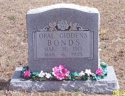 Opal <i>Giddens</i> Bonds