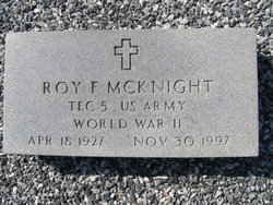 Roy F McKnight