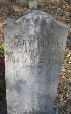Mary Johnson <i>McDonald</i> Gibson
