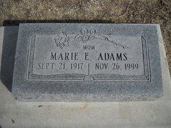 Marie E. <i>Martin</i> Adams