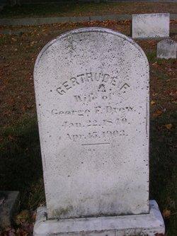 Gertrude F Drew