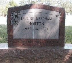 Pauline <i>Needham</i> Horton