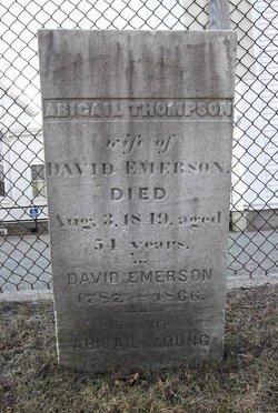 Abigail <i>Thompson</i> Emerson
