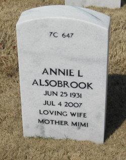 Annie Lois <i>Strickland</i> Alsobrook