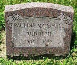 Pauline <i>Tidwell</i> Marshall-Rudolph
