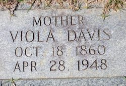 Viola <i>Poland</i> Davis