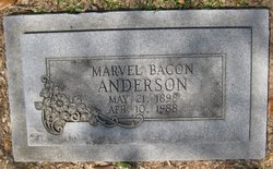 Marvel Violet <i>Bacon</i> Anderson