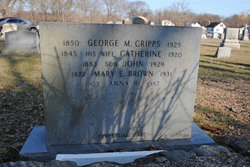 Mary Esther <i>Cripps</i> Brown
