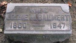 Mary Elizabeth Lizzie <i>Nagel</i> Balmert