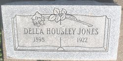 Della <i>Housley</i> Jones