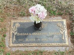 Barbara <i>Harkins</i> Barker