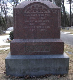 Clarence W Brown