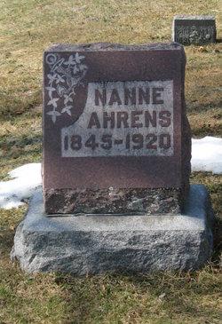 Nanne Ahrens