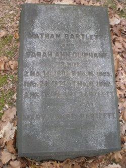 Sarah Ann <i>Oliphant</i> Bartlett