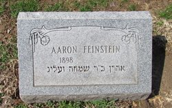 Aaron Feinstein