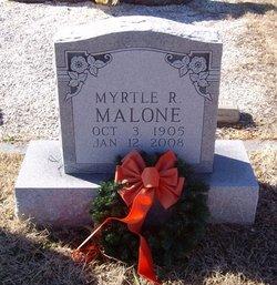 Myrtle Rector <i>Lynch</i> Malone