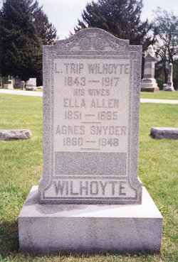 Agnes Frederick <i>Snyder</i> Wilhoyte