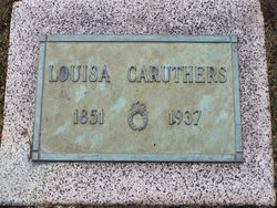 Louisa Caruthers