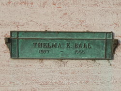 Thelma Ethel <i>Poor</i> Ball