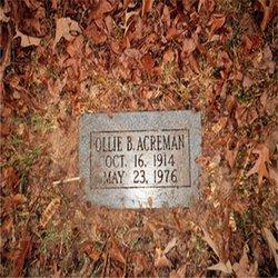 Ollie B Acreman