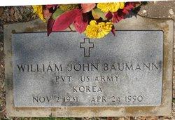 William John Baumann